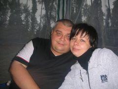 опен август 2009 - с женой